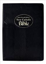 New Catholic Bible, Large Type, DuraLux Black