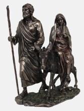 Journey to Bethlehem Bronze Statue