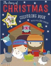 The Story of Christmas Colouring Book