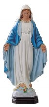 Our Lady Immaculate Statue for Indoor or Outdoor Use (40cm)