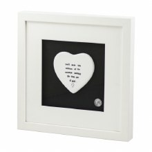 Colour of the Rainbow Framed White Ceramic