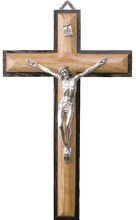 Olive Wood Crucifix (26cm)