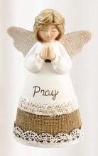 Cream Pray Angel 10cm