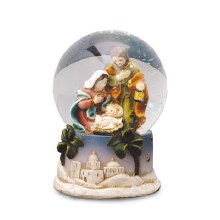 Holy Family Water Globe (6cm)