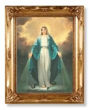 Miraculous Gold Framed Print (30 x 25cm)