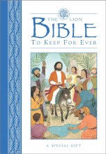 Lion Bible to Keep for Ever (Blue)