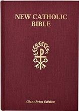 St Joseph New Catholic Bible Giant Type Red Hardco