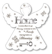 Home Blessing Wooden Decorative Plaque