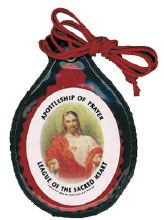 Laminated Sacred Heart Scapular