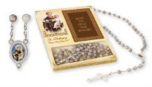 St Anthony Gift Boxed Rosary Beads