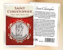 St Christopher Pocket Token
