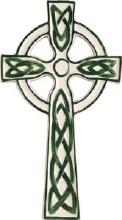 Ceramic Celtic Cross (19cm)