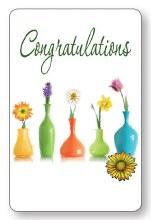 Congratulations Laminated Prayer Leaflet