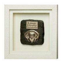Claddagh Framed Plaque - Genesis