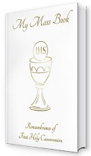 First Holy Communion White Prayer Book