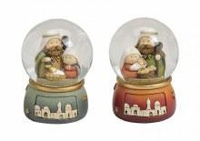 Holy Family Nativity Snowglobe