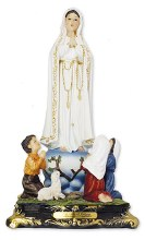 Our Lady of Fatima Florentine Statue (40cm)