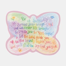 Be a Butterly Hanging Plaque