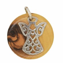 Angel Star of Bethlehem Pendant