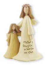Mother and Daughter Angel (10cm)