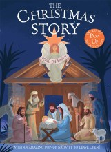 The Christmas Story, with Pop Up Nativity Scene