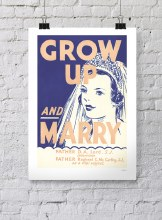 Grow Up and Marry Poster