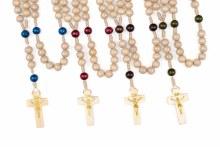 Cream Rosary Beads