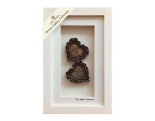 Two Hearts Entwined Shadow Box