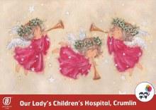 Christmas Angels Crumlin Hospital Box of 12 cards
