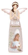 C39272 Girl First holy Communion Porcelain Angel