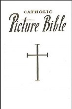 Catholic Picture Bible, White, Padded