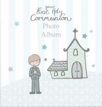 Boy First Holy Communion Photo Album