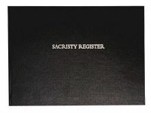 Sacristy Register 200 Leaf