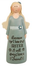 39539 Sister Message Angel 10cm