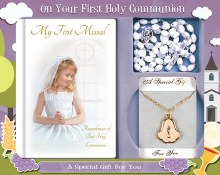 Girl First Holy Communion Set Book