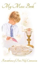 Boy First Holy Communion Prayer Book