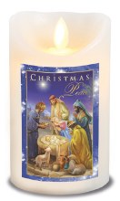 Christmas Peace  LED Candle