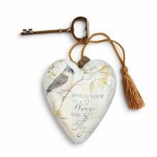Spread Your Wings Art Heart (10cm)