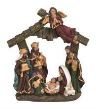 10028163 One Piece Nativity Scene 18 x 20 cm