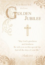 Golden Jubilee Card