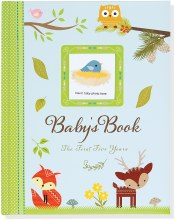 Woodland Friends Baby's Book