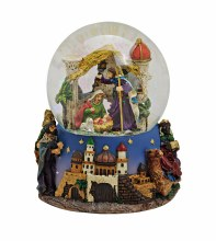 Musical Nativity Scene Waterball