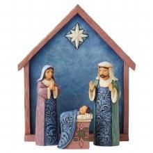 Heartwood Creek Blessed Bethlehem Nativity Scene