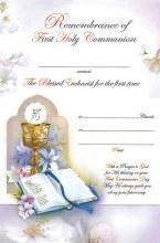 Communion Certificate (Symbolic)
