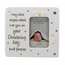 Little Angels Baptism Photo Frame