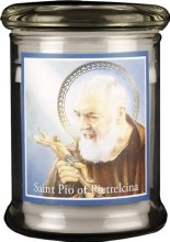 St Pio LED Candle