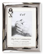 Communion Silver Frame  4x6