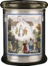 Our Lady of Knock LED Candle