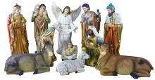 89464 O Come All Ye Faithful Nativity 100cm