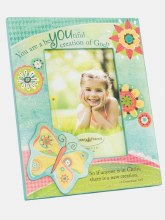 Butterfly Girl Photo Frame